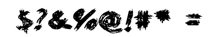 WorstPaintJobEver Font OTHER CHARS
