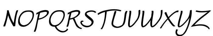 Worstveld Sling Bold Oblique Font UPPERCASE