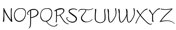 Worstveld Sling Extra Font UPPERCASE