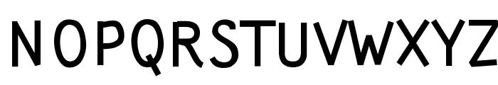 Wortellina Font UPPERCASE