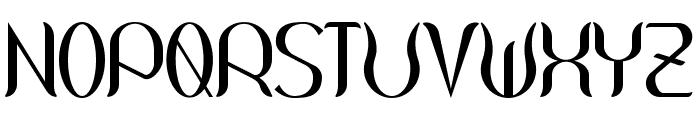 Wouliane Font UPPERCASE