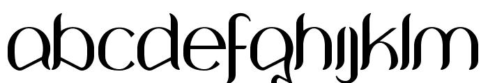 Wouliane Font LOWERCASE