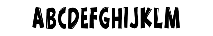 Wow emezing extra extra regular Font LOWERCASE