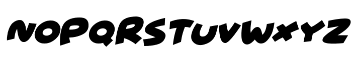 Wowsers Italic Font LOWERCASE