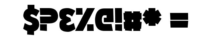 Wozcott Font OTHER CHARS