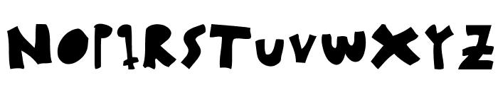 woodcutter MMXII Font UPPERCASE
