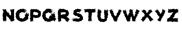 woodcutter carnage Font UPPERCASE