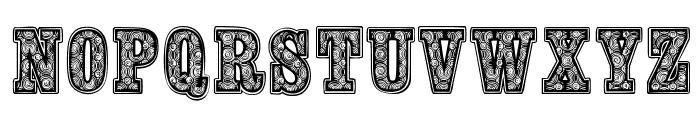woodcutter fontana Font UPPERCASE