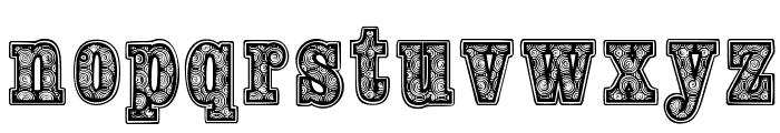 woodcutter fontana Font LOWERCASE