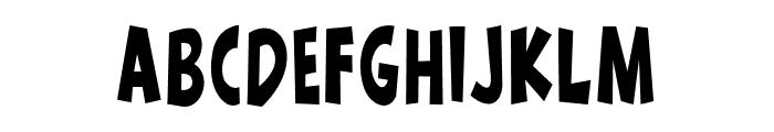 wow emezing reguler Regular Font UPPERCASE