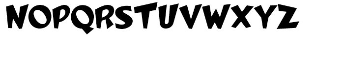 Woko Plain Font UPPERCASE