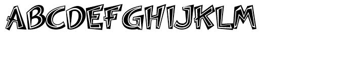 Woko Variation II Font UPPERCASE
