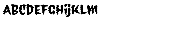 Wolfsblood Regular Font LOWERCASE