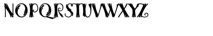 Woodball Regular Font UPPERCASE