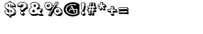 Woodcutter Regular Font OTHER CHARS