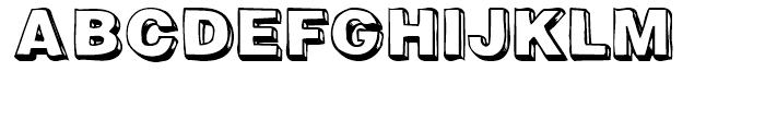Woodcutter Regular Font UPPERCASE