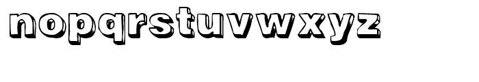 Woodcutter Regular Font LOWERCASE