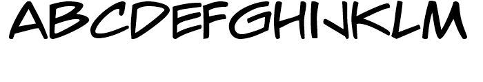 Wooders Regular Font UPPERCASE