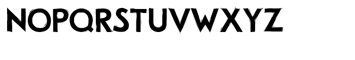 Woody Regular Font UPPERCASE