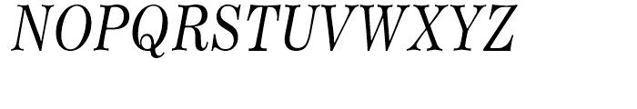 Worldwide Headline Italic Font UPPERCASE