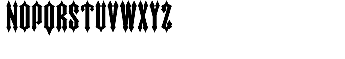 Wormwood Regular Font UPPERCASE