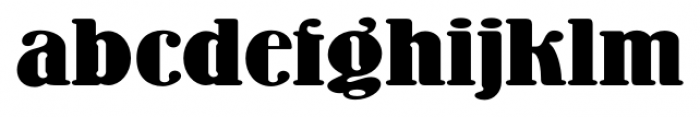 Wooden Nickel NF Pro Regular Font LOWERCASE