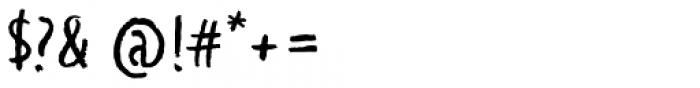 WORKSHOP Pencil Font OTHER CHARS