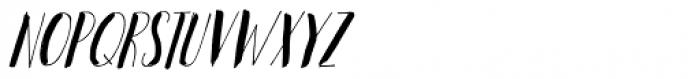 Woebegone Italic Font UPPERCASE