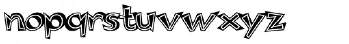 Woko Variation II Font LOWERCASE