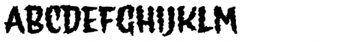 Wolfsblood Font UPPERCASE