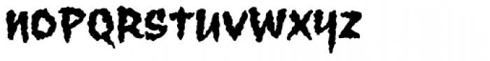 Wolfsblood Font LOWERCASE