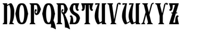 Wolverhampton Font UPPERCASE