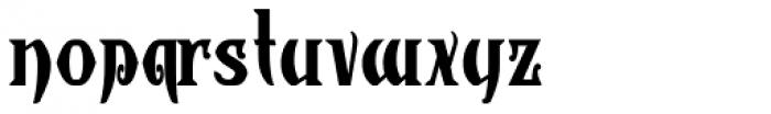 Wolverhampton Font LOWERCASE
