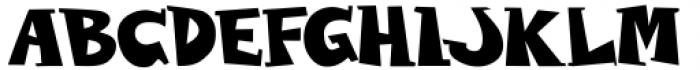 Wolvins Bold Font UPPERCASE