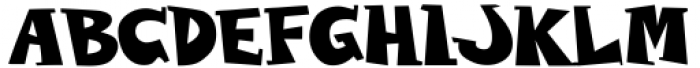 Wolvins Bold Font LOWERCASE