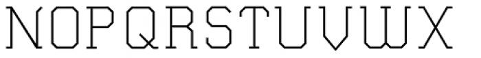 Wombat Light Font UPPERCASE