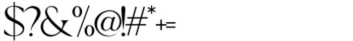 Wondar Quason Regular Font OTHER CHARS