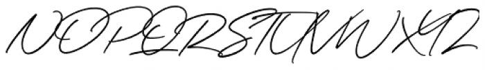 Wonder Bay Regular Font UPPERCASE