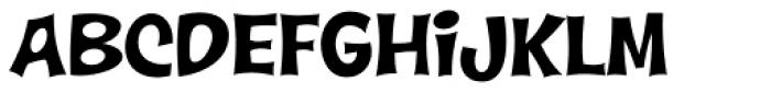 Wonderbear PB Font UPPERCASE