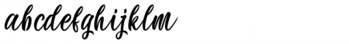Wonderkids Regular  Font LOWERCASE