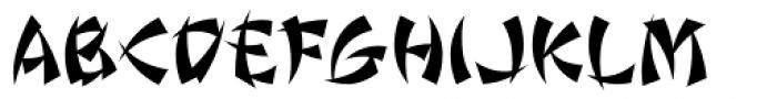 Wonton ICG Font UPPERCASE