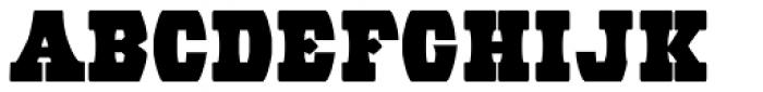 Wood Barrel Font UPPERCASE
