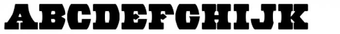 Wood Barrel Font LOWERCASE
