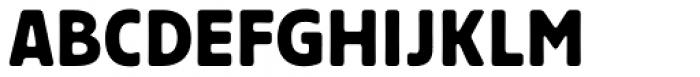 Wood Heinz No.4 New Font UPPERCASE