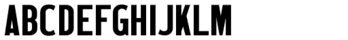 Wood Type Grotesk JNL Font UPPERCASE
