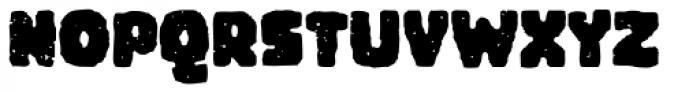 Woodchip Grunge Font UPPERCASE