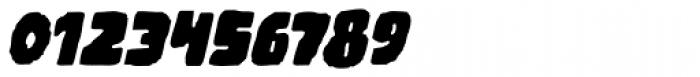 Woodchip Slant Font OTHER CHARS