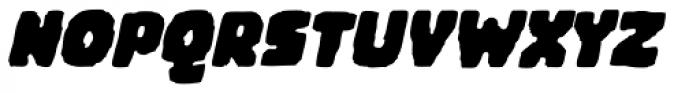 Woodchip Slant Font UPPERCASE