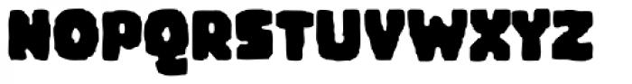 Woodchip Font UPPERCASE