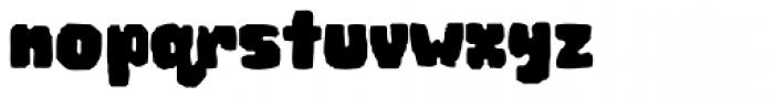 Woodchip Font LOWERCASE